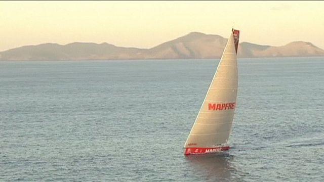 """Испанский """"Мапфре"""" - победитель четвертого этапа Volvo Ocean Race"""