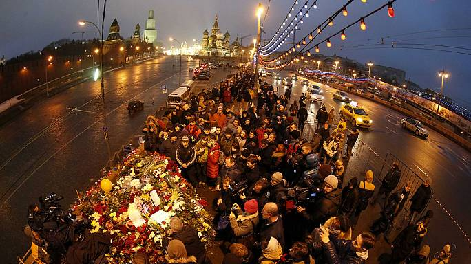 Putin promises to hunt down killers of opposition figure Boris Nemtsov