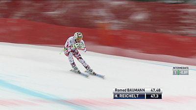 Áustria arrebatou o pódio em Garmisch