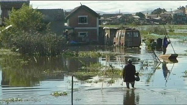 Madagascar floods kill 14 and displace thousands