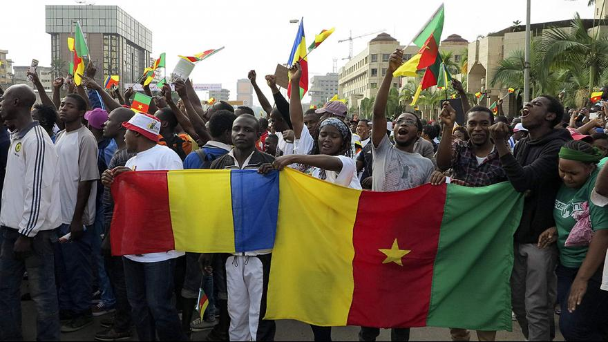 Камерун: акция протеста против «Боко-Харам»