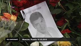 nocom: Thousands join Moscow march to pay tribute to murdered politician Boris Nemtsov