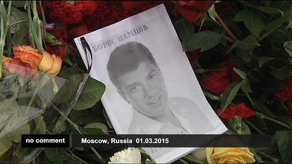 Borisz Nyemcovra emlékeztek Moszkvában
