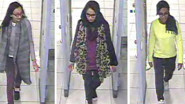 تصاویر جدید از سه دختر بریتانیایی مظنون به پیوستن به داعش