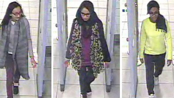 Sicherheitskameras zeigen britische Mädchen vor Ausreise nach Syrien