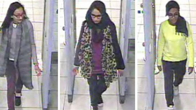 Busszal szökött a szíriai határhoz a három brit kamaszlány