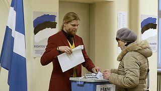 إستونيا القلقة على أمنها تبدأ إنتخاباتها التشريعية