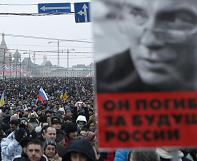 "Memorial march: ""My hope for Russia has died with the death of Boris Nemtsov"""