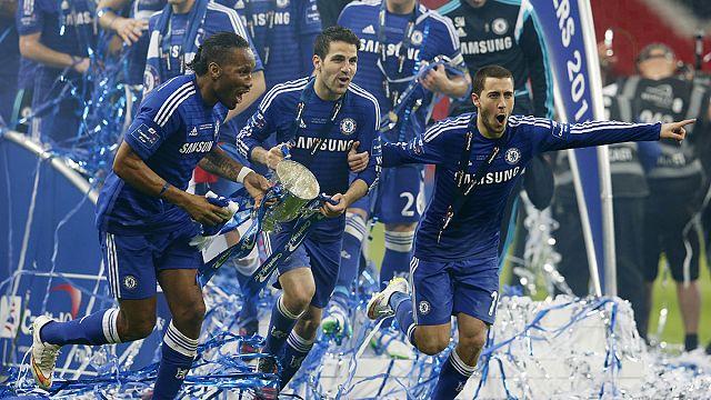 İngiltere Lig Kupası'nı 5. kez Chelsea kazandı