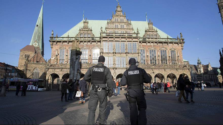 شرطة بريمين تخفض مستوى الانذار الامني بشأن وقوع تهديدات ارهابية