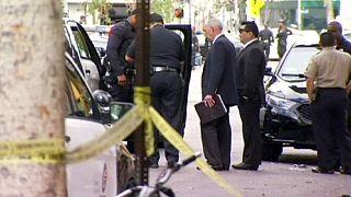 Lelőttek egy hajléktalant a rendőrök Los Angelesben