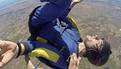 Skydiver has lucky escape after seizure at 9,000 feet