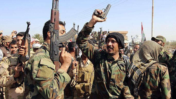 Irak 30 bin kişilik orduyla IŞİD'e karşı taarruz başlattı