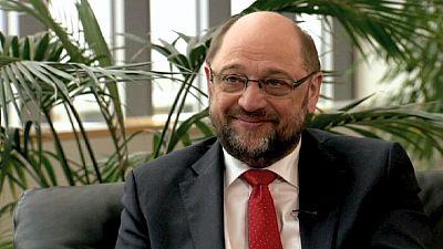 """PE/ Martin Schulz: """"Têm de estar de acordo sobre as linhas de ação no próprio executivo de Atenas; é o primeiro-ministro que deve cimentar a coligação"""""""