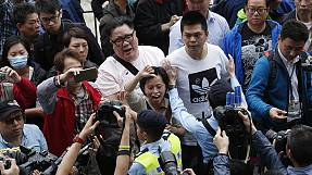 At least three arrested at Hong Kong anti-China protest