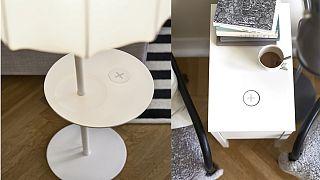 Έπιπλα  IKEA θα φορτιζούν άσυρματα  τα κινητά τηλέφωνα και ηλεκτρονικές συσκευές!