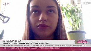 """Anna Duritskaya, compagna di Nemtsov:""""Non ho visto nulla"""""""