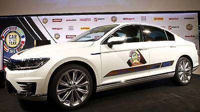 Volkswagen Passat named Car Of The Year 2015