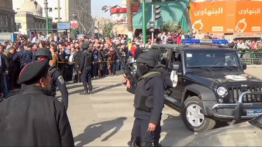 Nine wounded in bomb attack on Cairo court