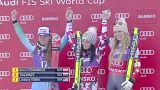 Sci: Anna Fenninger trionfa nel superG di Bansko, Elena Curtoni ottimo 5° posto