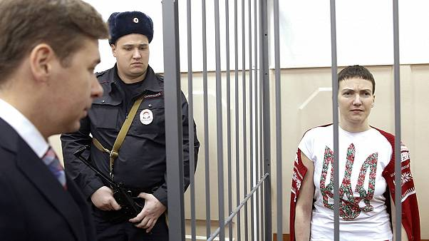 Female pilot jailed in Russia proclaimed a 'hero of Ukraine'
