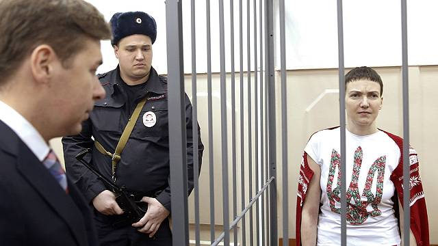 Ukrajna hőse lett az orosz börtönben éhségsztrájkoló pilóta