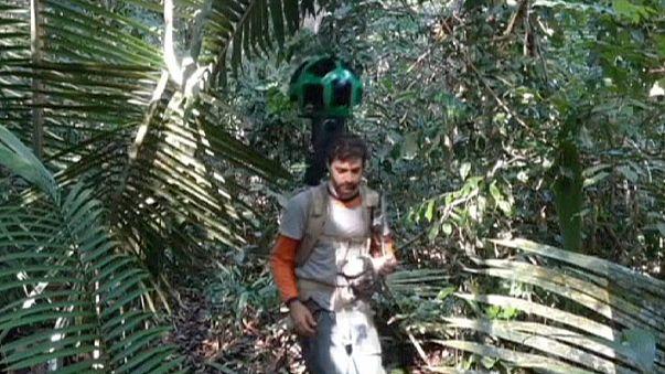 Google Street View retrata la Amazonia