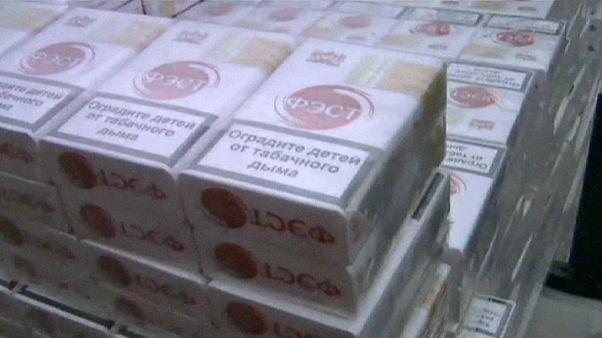 کشف و ضبط بیش از ۱۸۵ هزار بسته سیگار قاچاق در لهستان