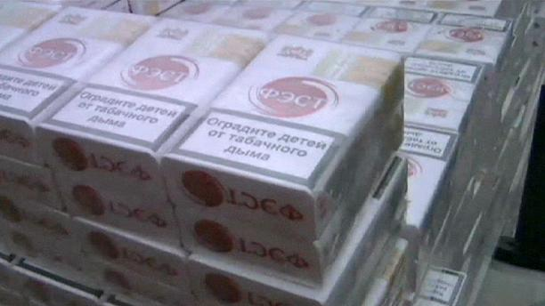 Smuggled shipment of cigarettes stopped at Polish border