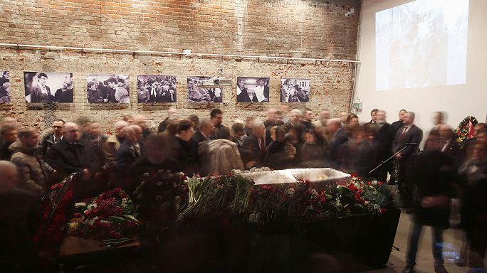 Funérailles sous tension de Boris Nemtsov