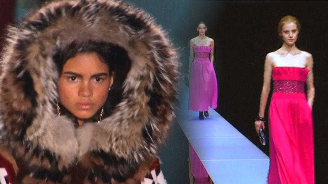 Mailänder Modewoche endet mit Dsquared2 und Armani