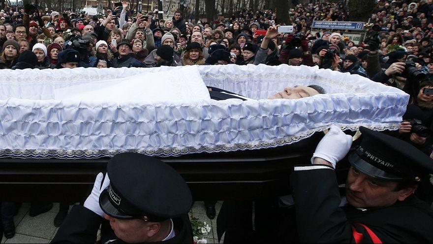É o adeus a Boris Nemtsov