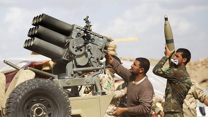 القوات العراقية تشن حملة واسعة لتحرير تكريت التي تسيطر عليها داعش