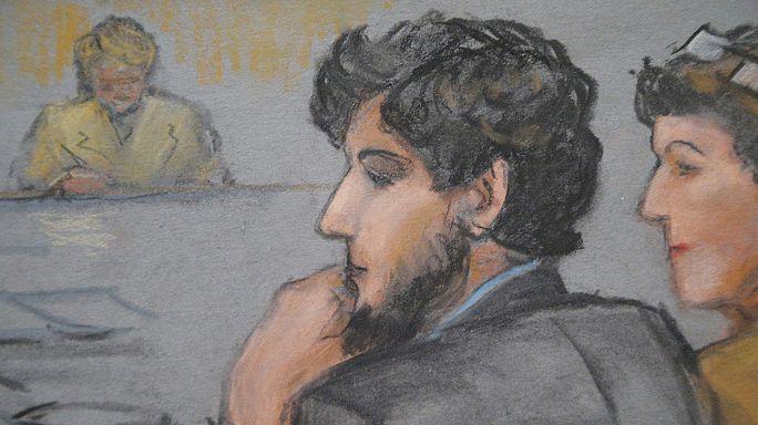 بدء محاكمة جوهر تسارناييف أحد منفذيْ هجومي ماراثون بوسطن