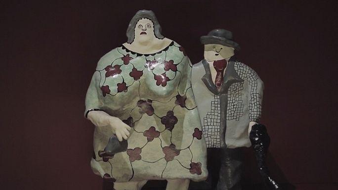Niki de Saint Phalle eserleri Bilbao'da
