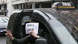 Uber 'killing our jobs,' say Brussels taxi drivers