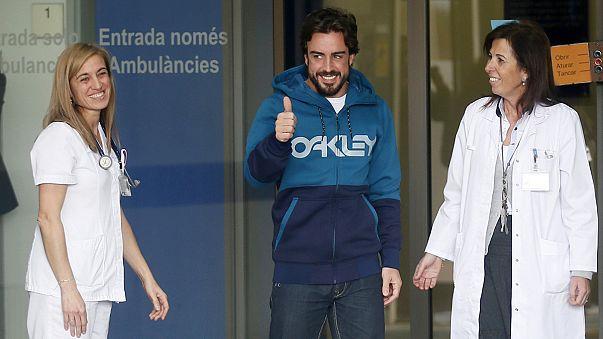 McLaren medics rule Alonso out of F1 season opener in Melbourne