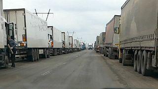Ukraine: Eingeschränkter Waren- und Personenverkehr in und aus dem Donbass