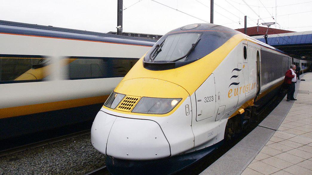 Reino Unido vende parte do Eurostar