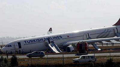 [Watch] Passengers emergency evacuate crash-landed Airbus A330