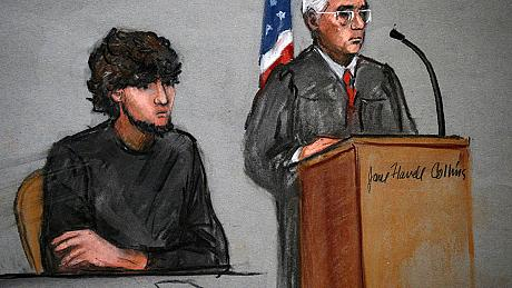 'It was him': Tsarnaev's defence team admits his guilt in Boston bombings