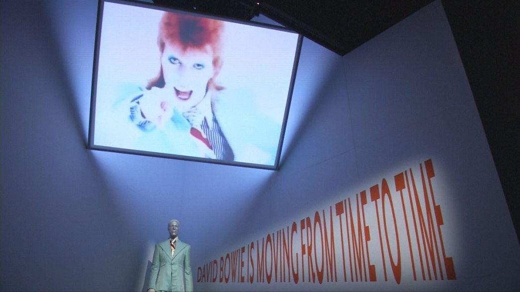Exposição sobre David Bowie viaja até Paris