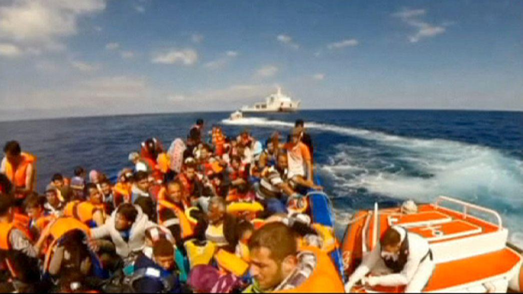 İtalya'ya kaçak göçmen akınında artış var