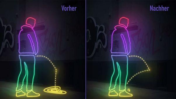 Hambourg : des habitants s'attaquent aux urineurs intempestifs avec des murs hydrophobes