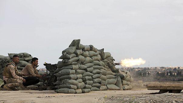 القوات العراقية تتقدم نحو تكريت لاستعادتها من يد تنظيم الدولة الإسلامية
