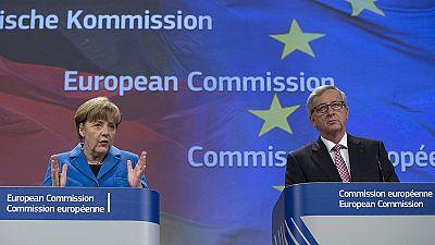 Merkel admite reforço das sanções contra a Rússia