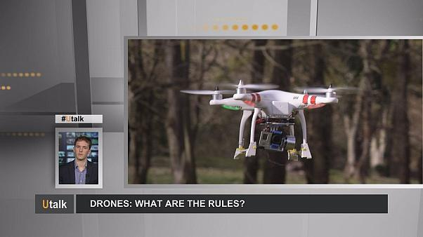 Vorschriften für Drohnen