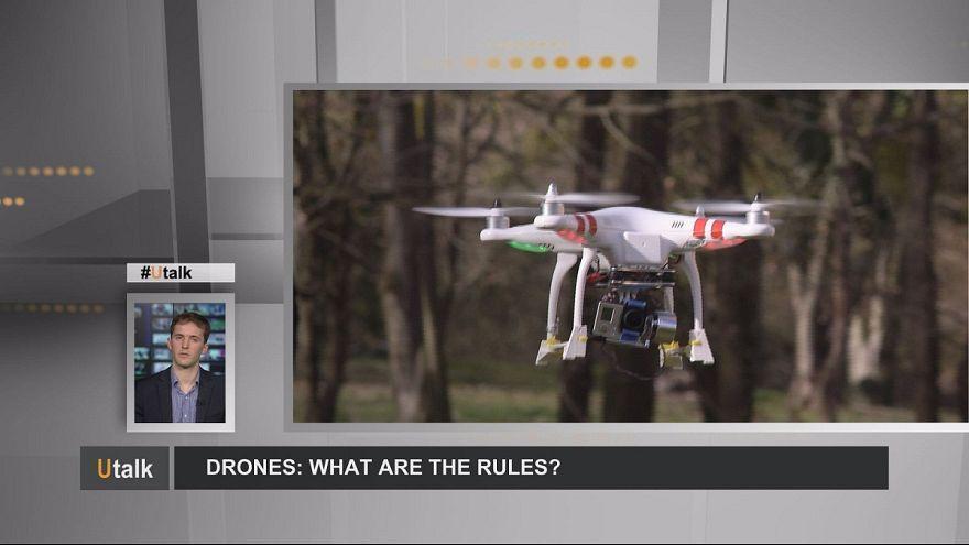 ¿Qué legislación regula el uso de drones?
