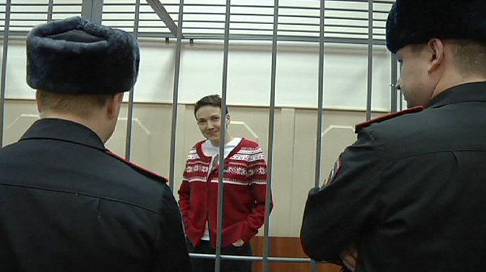 Kiev Rusya'dan Ukraynalı kadın pilotu serbest bırakmasını istedi