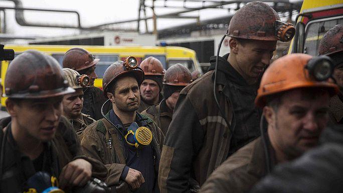Après la guerre, l'Est de l'Ukraine endeuillé par un coup de grisou